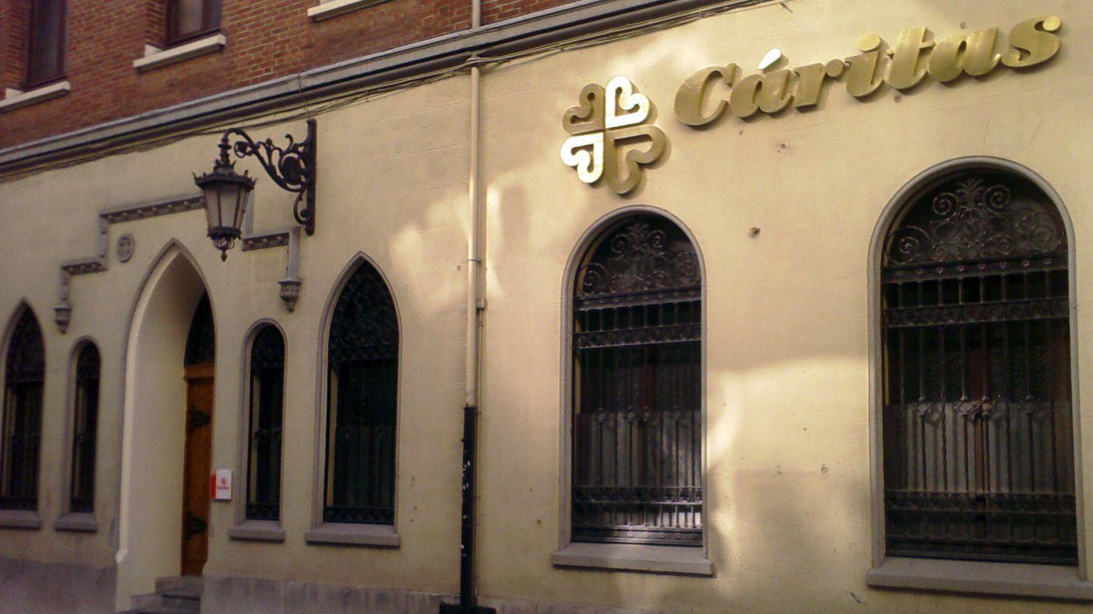 La sede de Cáritas en Oviedo