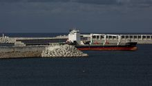 Puerto exterior de punta Langosteira