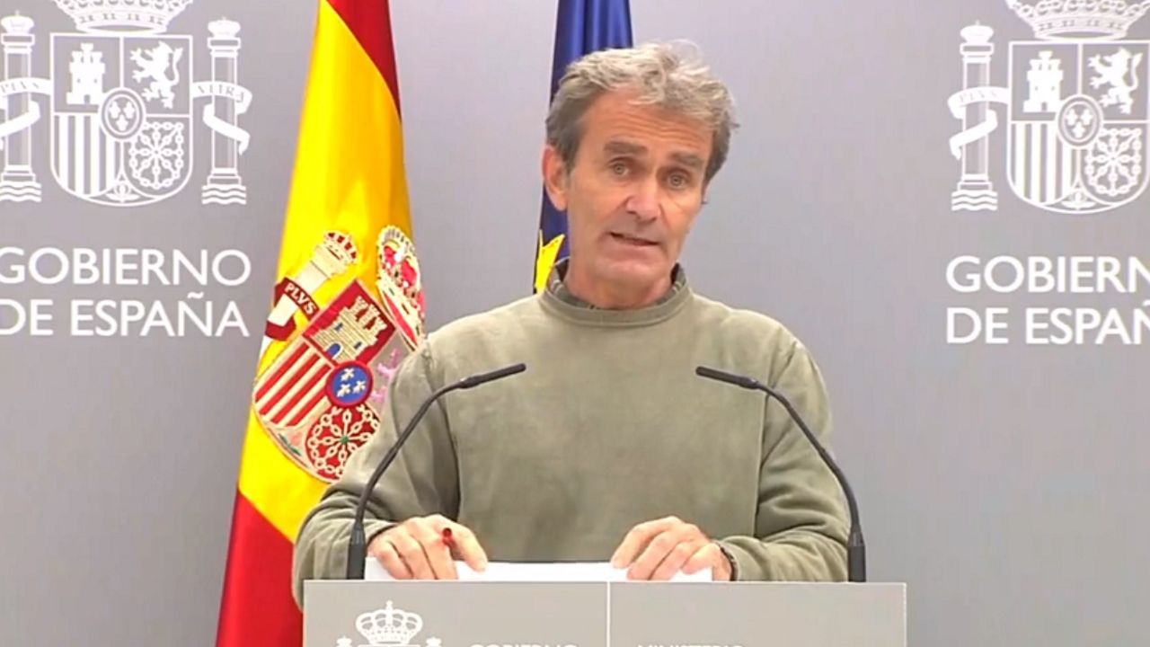En directo | Sigue la comparecencia de Fernando Simón