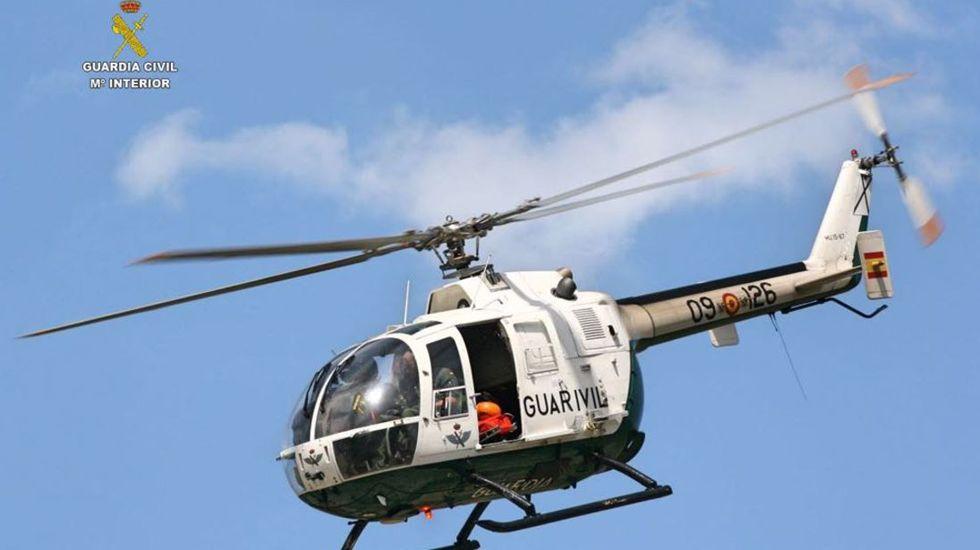 Helicóptero de la Guardia Civil de Montaña.Helicóptero de la Guardia Civil de Montaña