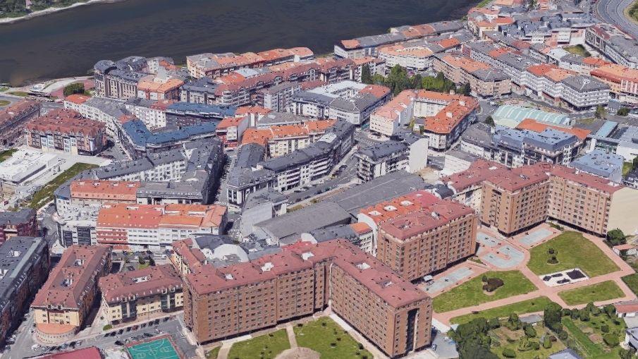 Más que en Lugo y Ferrol. Junto a la ría do Burgo, en O Temple (Cambre) hay una elevada concentración de residentes