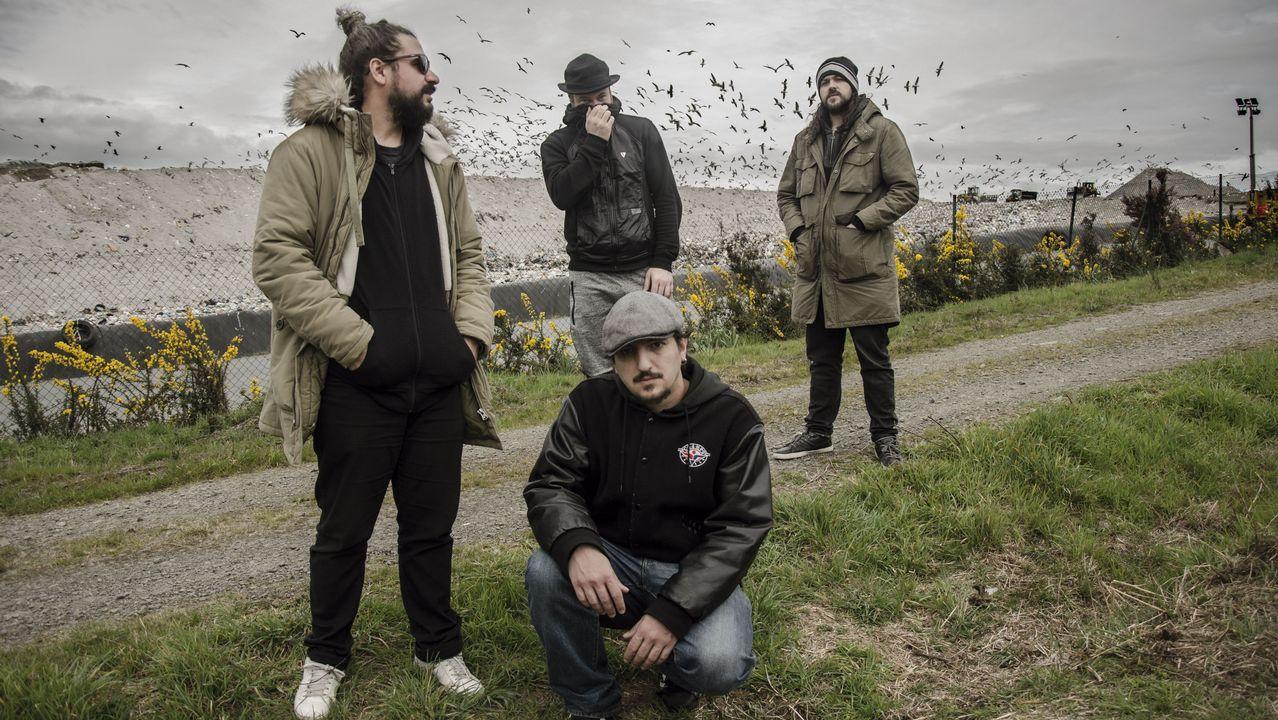 Dios Ke Te Crew publican o álbum «O ciclo da serpe»