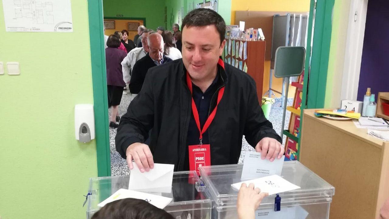 Valentín González Formoso, candidato del PSOE en As Pontes