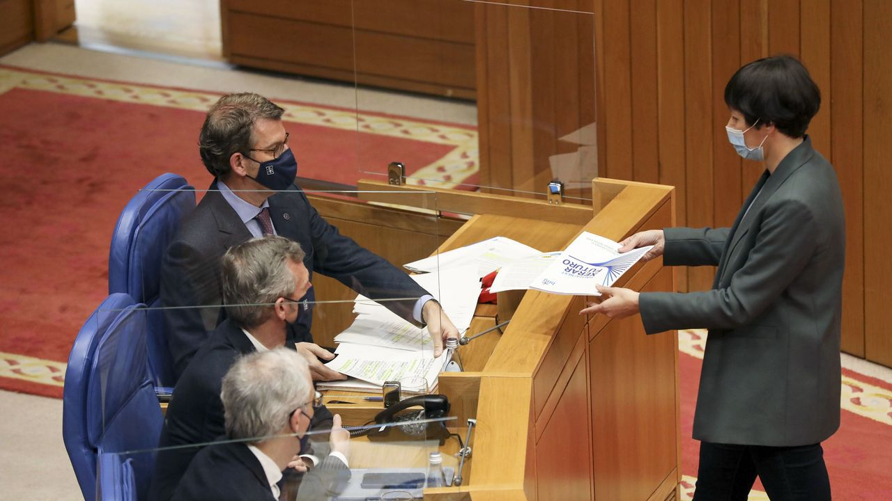 El líder de EH Bildu, Arnaldo Otegi, en una rueda de prensa