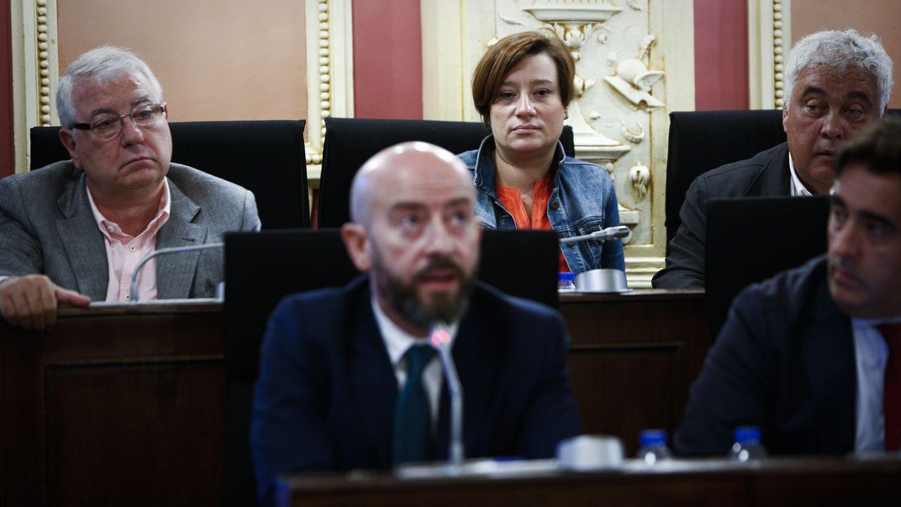 Fiesta en la prisión por la Merced.Fernando Iglesias Espiño, en una foto difundida por la Delegación del Gobierno en Galicia