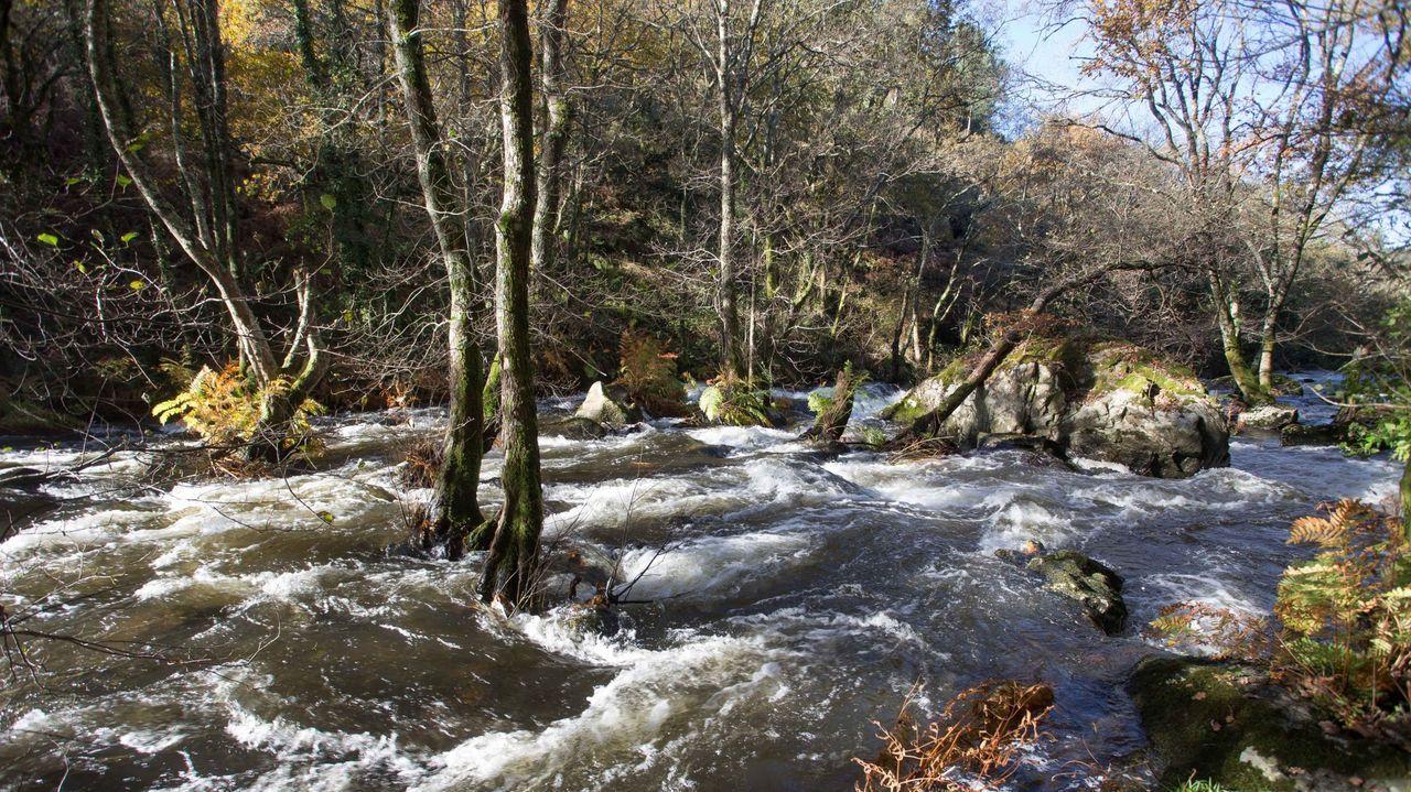 Zonas como los torrentes de Mácara reflejan la riqueza natural y paisajística del alto Ulla