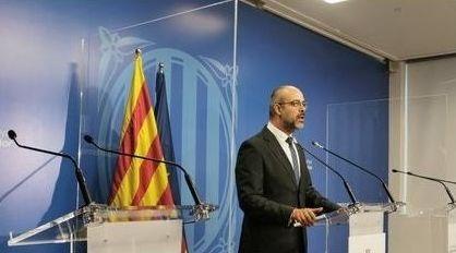 El consejero de Interior de la Generalitat, Miquel Buch
