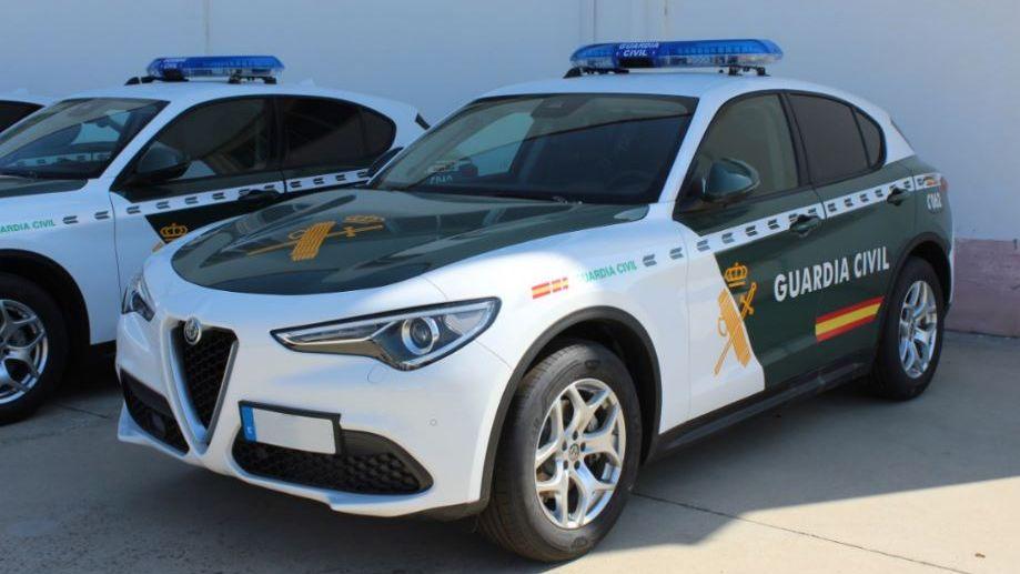El Alfa Romeo Stelvio adquirido por la Guardia Civil
