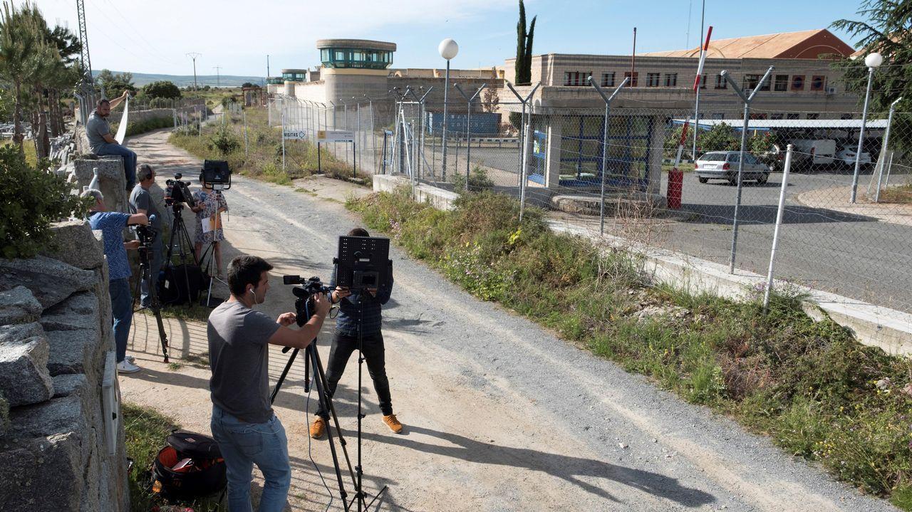 Vista general de la cárcel de Asturias.Cárcel de Brieva, en Ávila