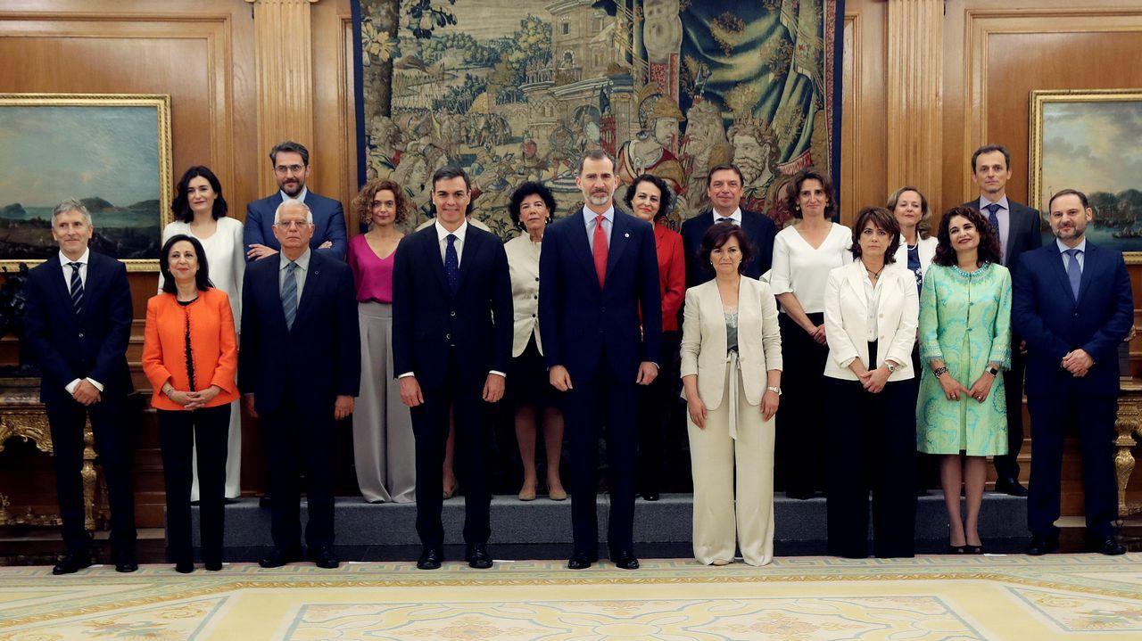 Primeras palabras de los nuevos ministros: estas son sus intenciones.Un castillete