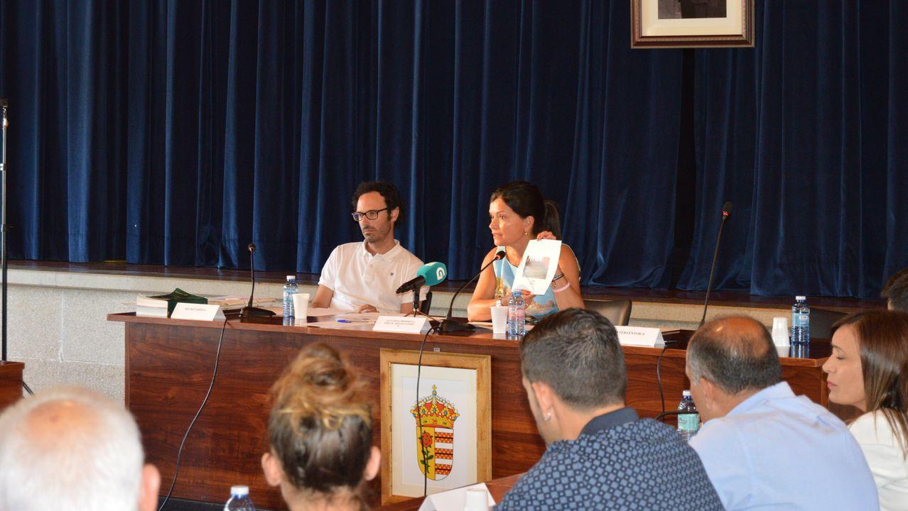 La Comisión Europea denunciará a España por sus altos niveles de contaminación.La alcaldesa de Mos, Nidia Arévalo, en el pleno del martes