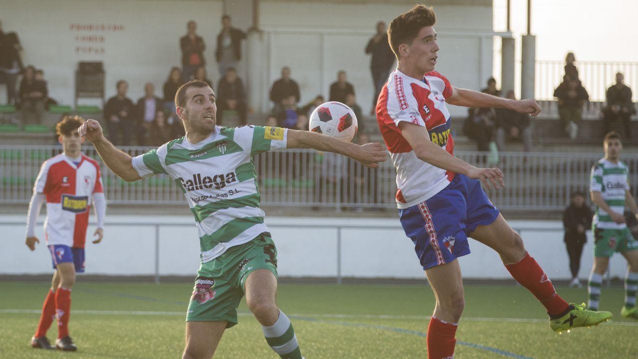 Así fue el Paiosaco-Arousa ¡mira las imágenes!.Didier Moreno jugó de mediocentro defensivo contra el Almería y en la segunda parte de Oviedo