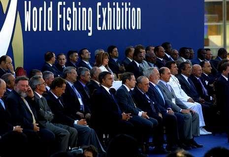 <span lang= es-es >Hasta 45 ministros de Pesca en el 2003</span>. La World Fishing del 2003 fue la edición de mayor calado político, con la presencia de 45 ministros y la participación de 800 empresas de 70 países.