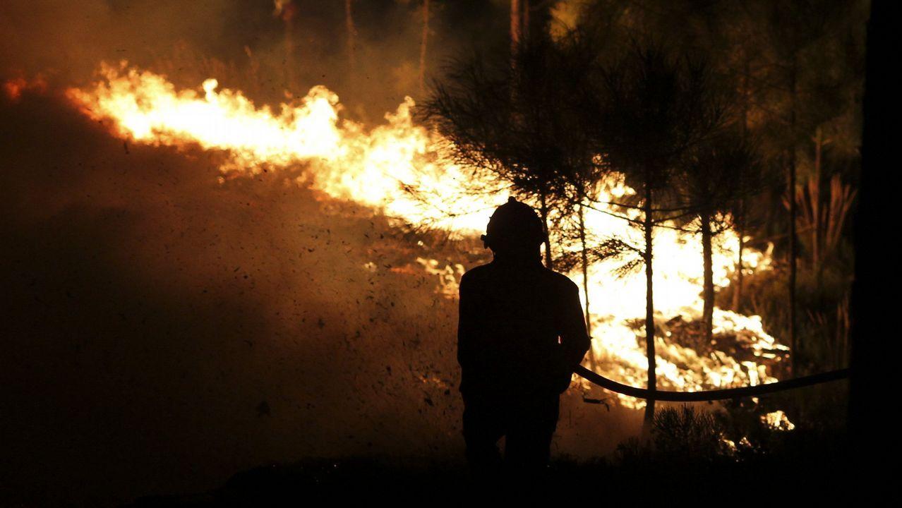 Medios españoles ayudan a combatir las llamas en Portugal tras su petición de ayuda