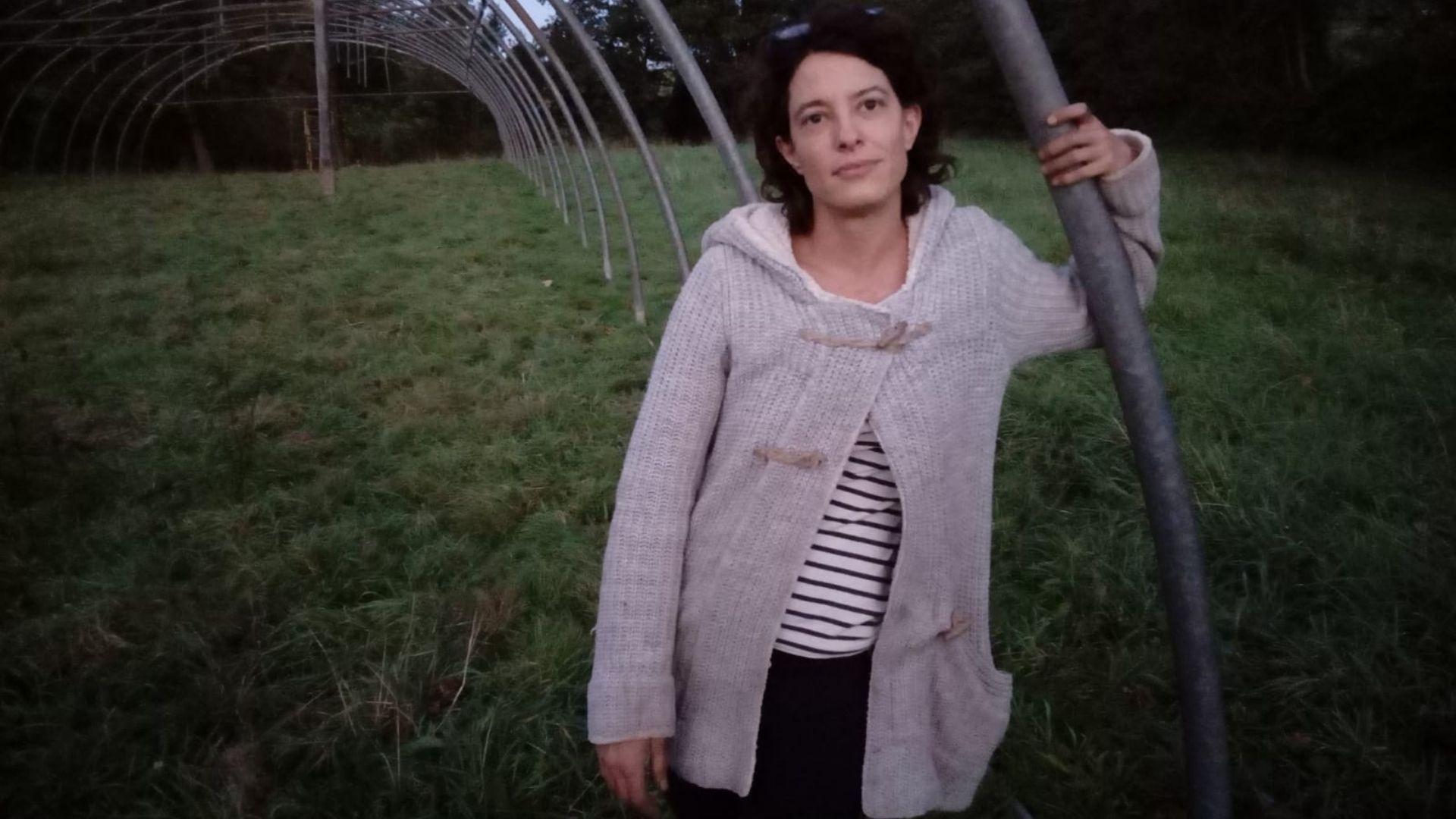 Lucía Díaz, de Trébole de Agua, en Villaviciosa