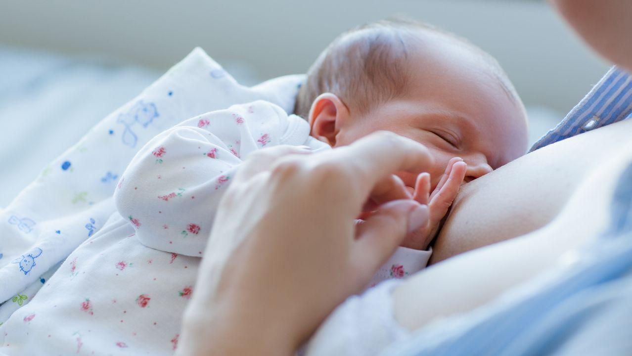 Luisa López, embarazada de cinco meses de su primer hijo, Miguel, al que perdió en la semana 36 de gestación