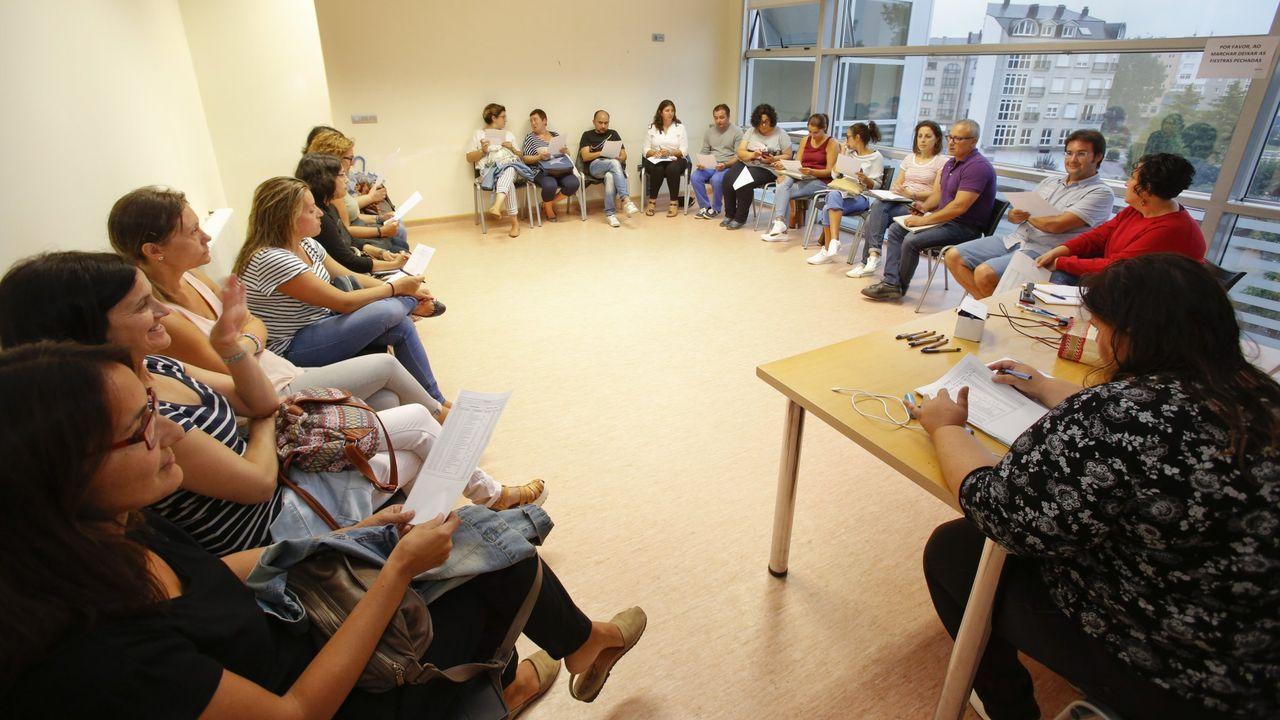 Imagen de archivo de una reunión de la Federación de ANPAs