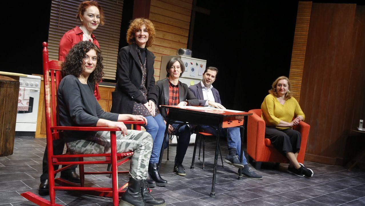 Contraproducións presenta «A compañeira de piso» a las 18.30 horas en el Gustavo Freire