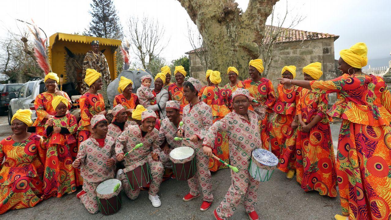 Así fue el fin de semana de Piñata en Barbanza.Javier Álvarez en el Dakar
