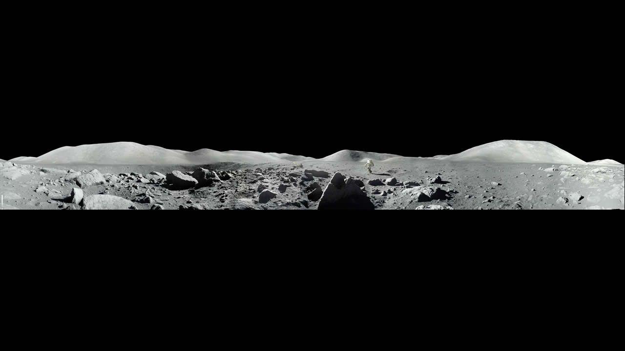 Imagen tomada por el comandante del Apolo 17, Eugene Cernan, y el piloto del módulo lunar Harrison Jack Schmitt