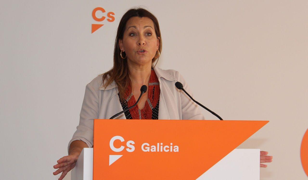 Beatriz Pino, coordinadora de Ciudadanos en Galicia