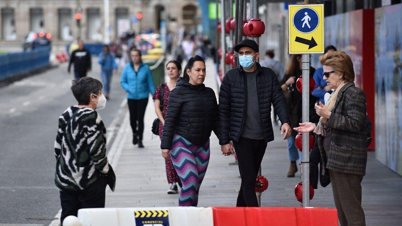 LAs infracciones de aparcamiento vuelven en la desescalada del coronavirus.Recreación virtual del Novo Chuac