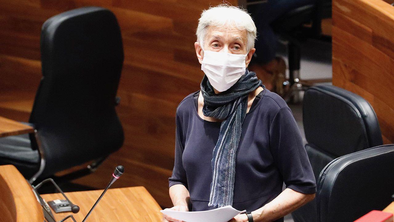La consejera de educación, Carmen Suárez