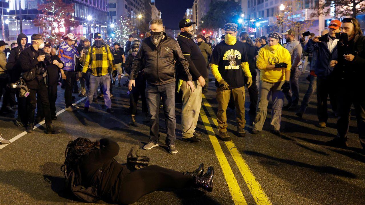 Protestas en las calles de Washington