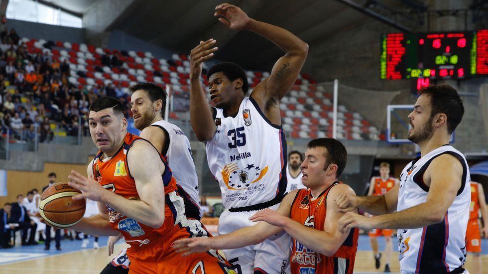 Basquet Coruña- Melilla. Cuarto partido de los play off por el ascenso a la ACB