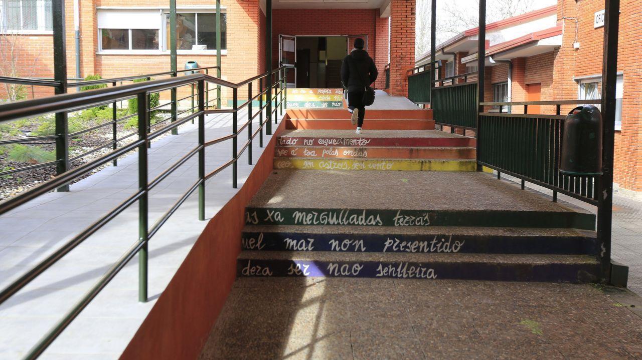 Cribado realizado esta semana en el campus universitario de Pontevedra