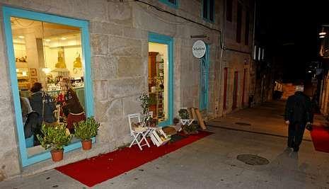 En la calle Abelaira Menéndez han abierto en el último año nuevos negocios.