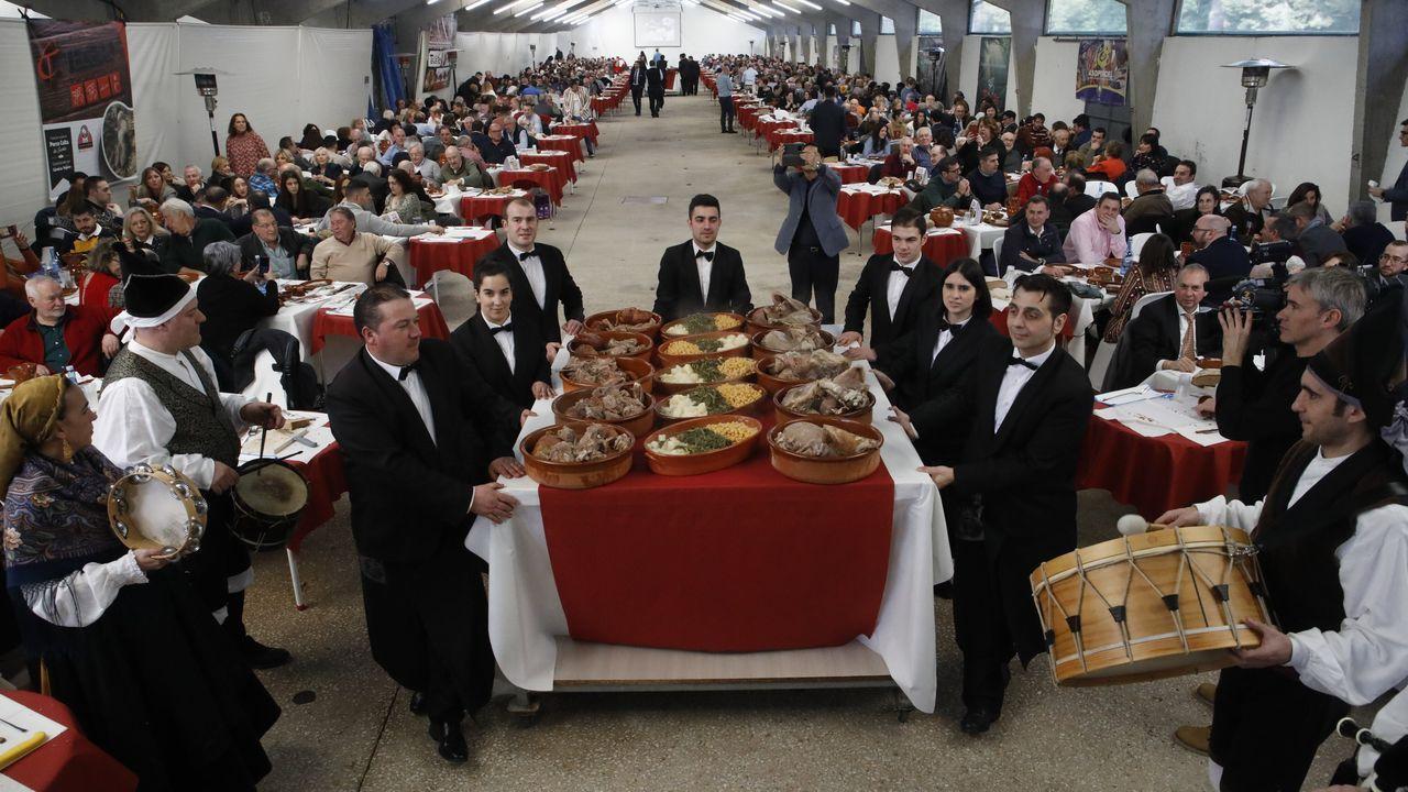 Fiesta del Porco Celta en Sarria
