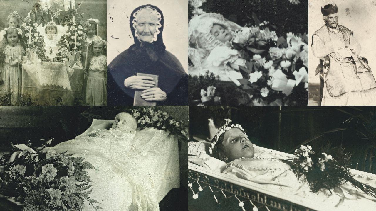 Algunas imágenes incluidas en el libro «Post Mortem. Collectio Carlos Areces»