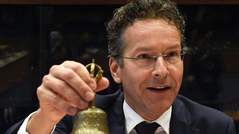 El presidente de turno del Ecofin, Jeroen Dijsselbloem