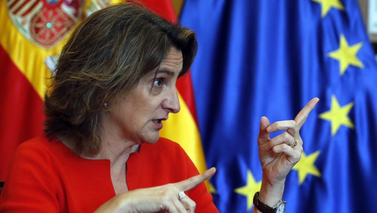 sol, calor, Gijón, playa, Asturias.Teresa Ribera, vicepresidenta y ministra para la Transición Ecológica