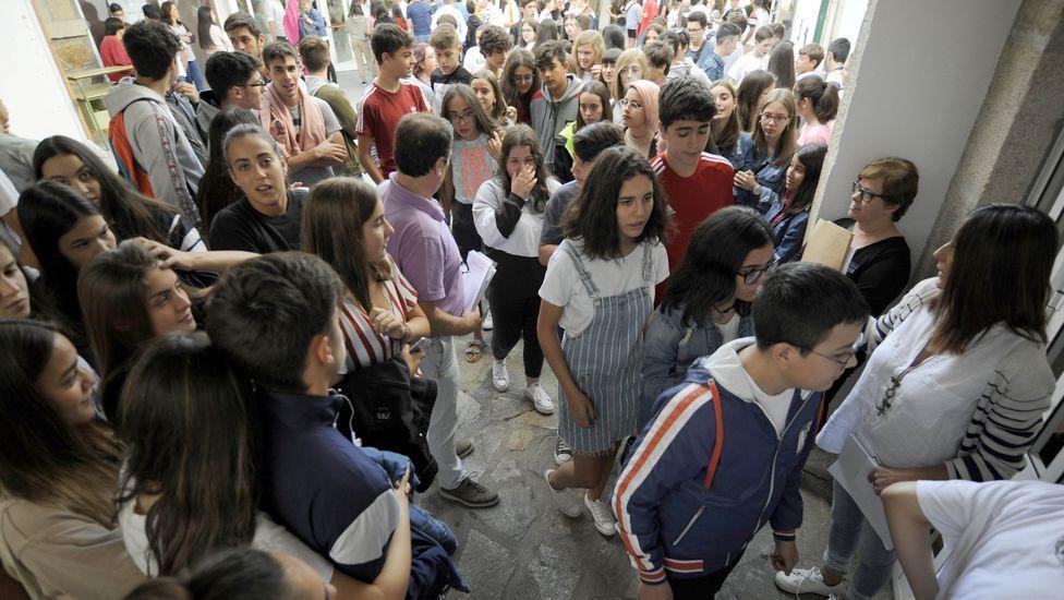El 85% de los estudiantes gallegos termina la ESO