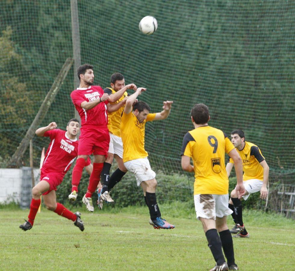 Los futbolistas de Escalza siguen en la segunda plaza.