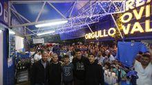 Ortuño, Cortina, Jimmy, Champagne y Sangalli en el chiringuito
