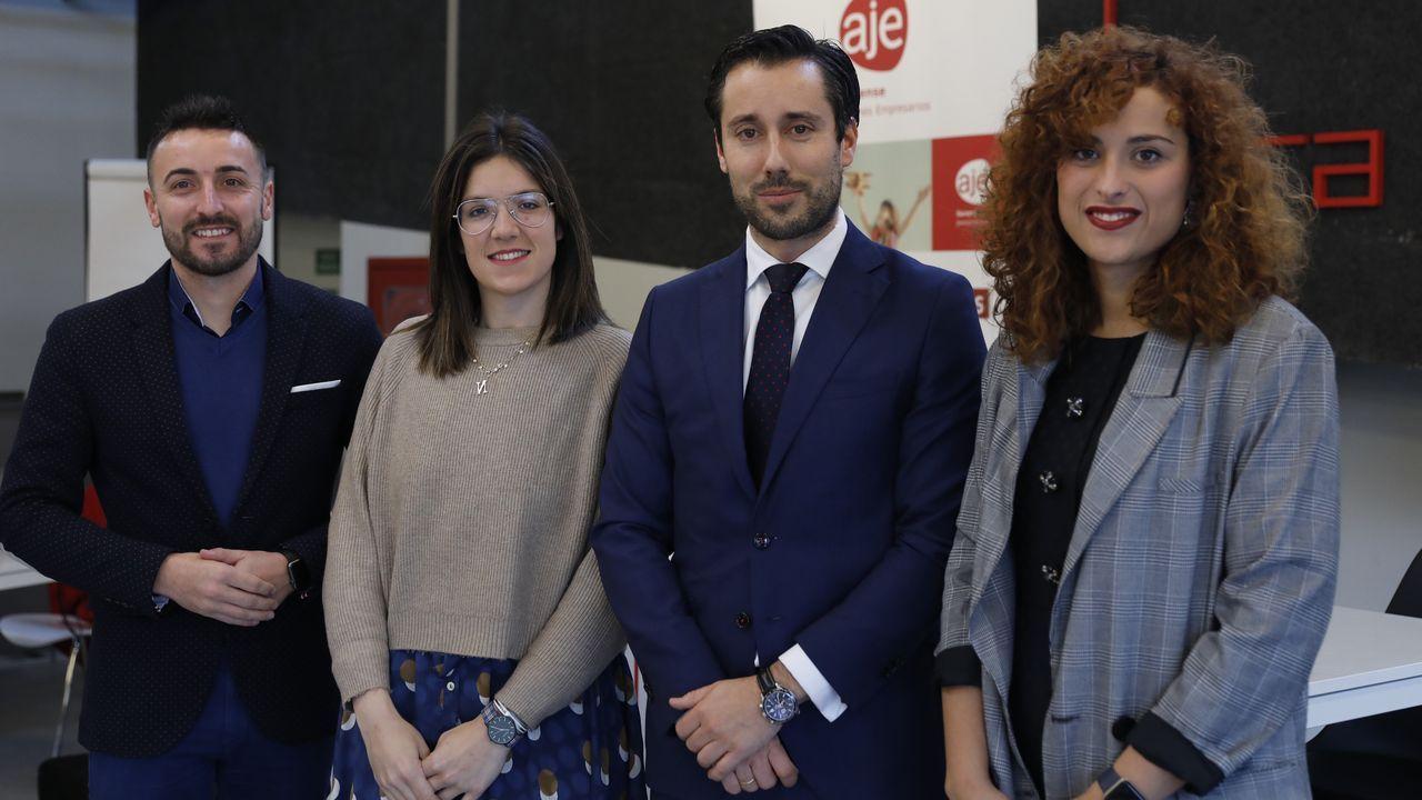La gala del emprendimiento de Ferrolterra en imágenes.Redrum Teatro pondrá en escena «Invisibles» en el auditorio Gustavo Freire