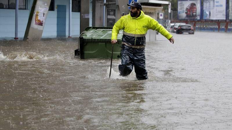 La primera ciclogénesis del otoño inunda Galicia