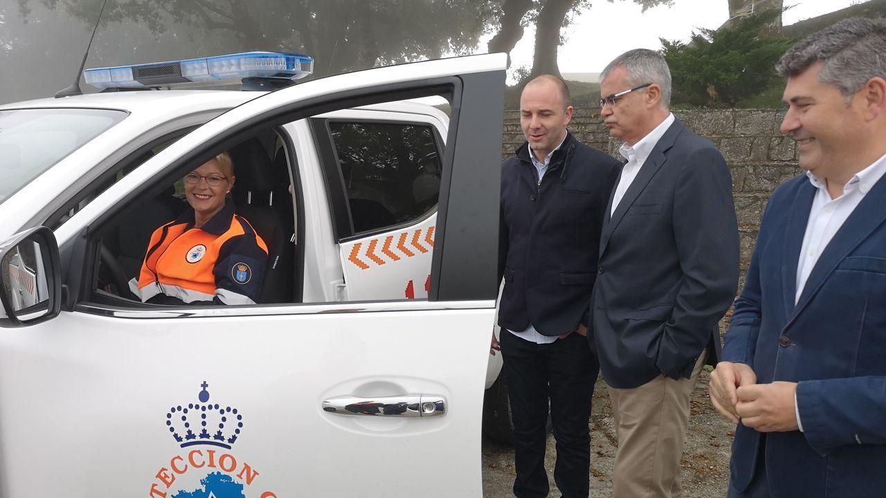 Jornada de convivencia de agrupaciones de Proteccíón Civil en Allariz.Más de 400 voluntarios se reunieron en esta jornada en Allariz.