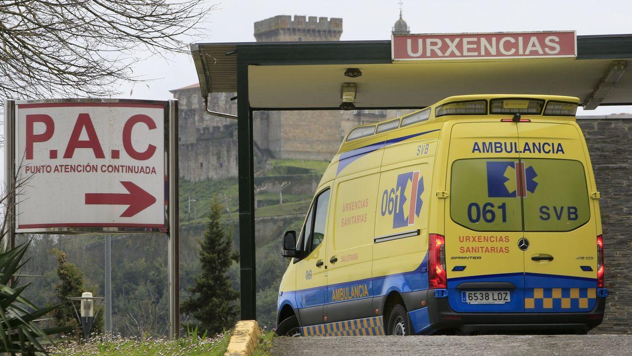 Los heridos en la trifulca del pasado sábado en Monforte fueron atendidos en urgencias