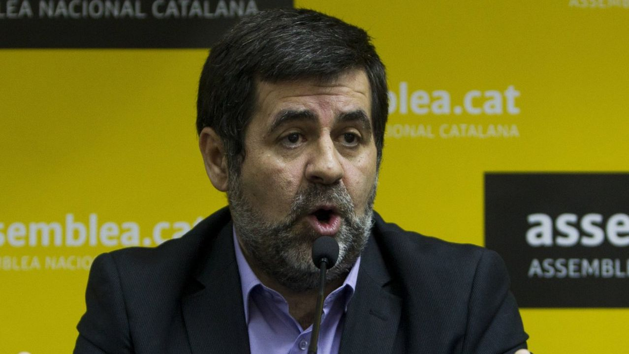 Jordi Sánchez. Expresidente de ANC. Rebelión. En prisión
