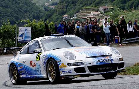Sergio Vallejo se alzó con la victoria en la Subida a Chantada en la modalidad de vehículos.