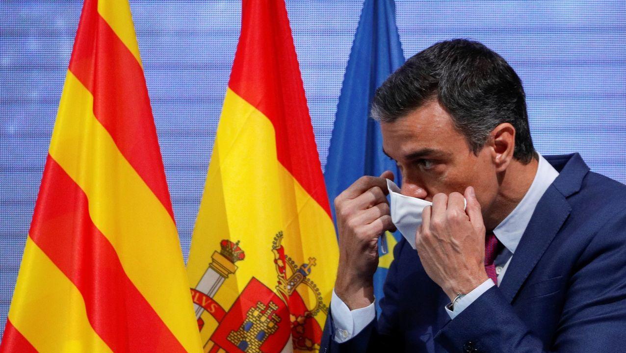Pedro Sánchez, el pasado viernes en el Círculo de Economía de Barcelona.