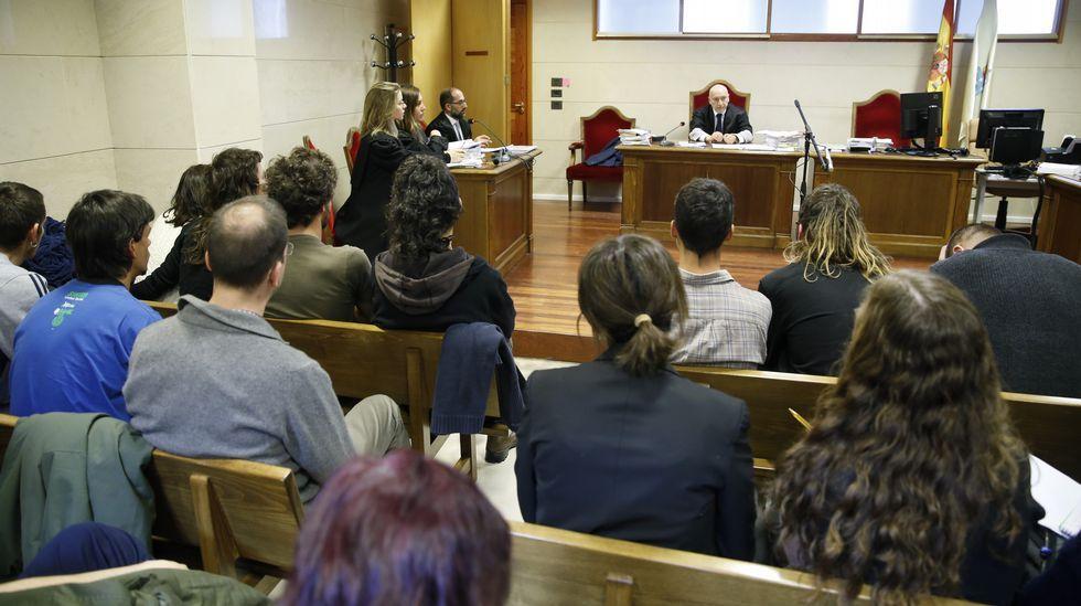 El último atentado terrorista atribuido a Resistencia Galega se cometió contra el Concello de Baralla en el 2014