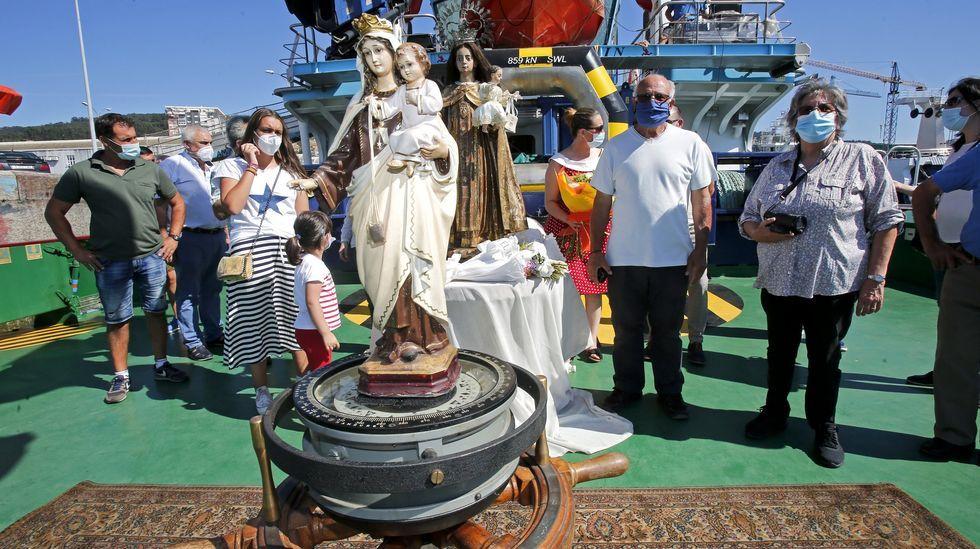 Este año se repetirá la versión abreviada de la procesión que se celebró el primer verano de pandemia en Marín