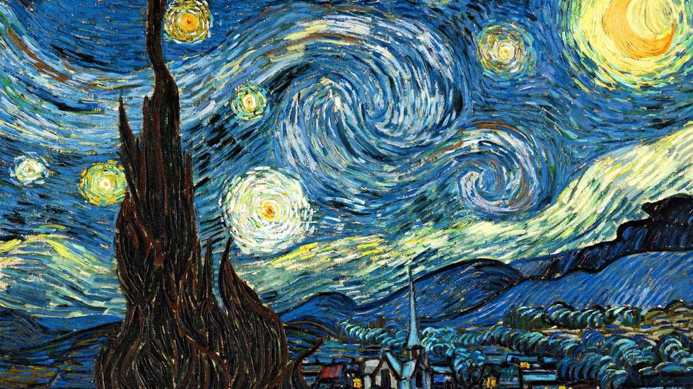 Primer paseo espacial exclusivamente femenino.«La noche estrellada» (1889), de Vincent van Gogh. Museo de Arte Moderno de Nueva York