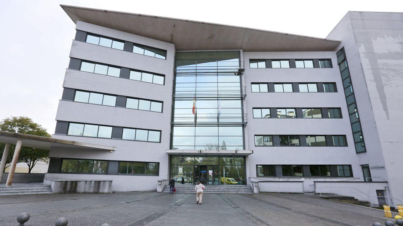 El acusado de haber agredido sexualmente a su vecina en O Corgo en el 2016, en la Audiencia Provincial de Lugo