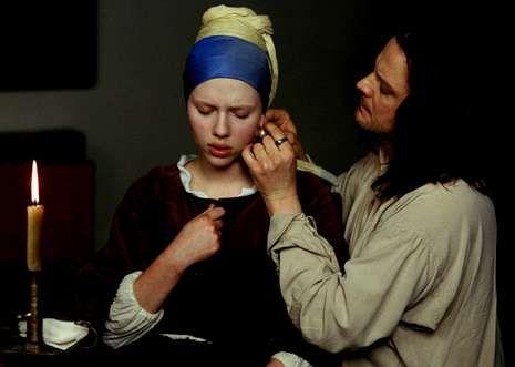 Oscars 2014: Los nominados a mejor actor y actriz protagonista.Scarlett Johansson y Colin Firth protagonizan «La joven de la perla».